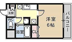 ハイツシャイニングN[2階]の間取り