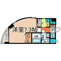 HILL HOUSE3[6階]の間取り