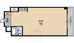 朝日プラザ都島本通パサージュ[5階]の間取り