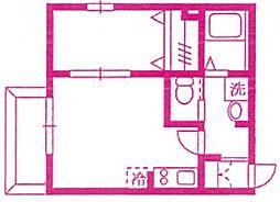 KENZO市ヶ尾[2階]の間取り