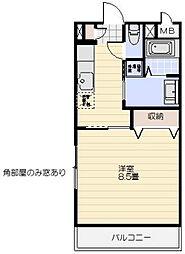 茶花(チャバナ)[112号室]の間取り