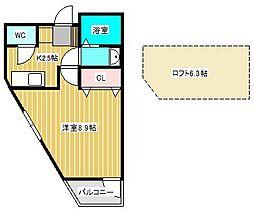 カーサグレーシア松戸[3階]の間取り