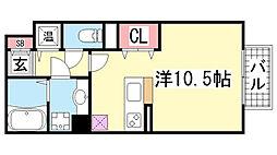 HITOMI DORMITORY[1階]の間取り