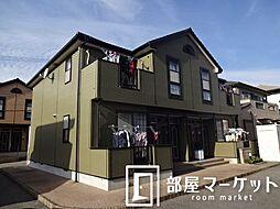 愛知県豊田市永覚新町1の賃貸アパートの外観