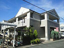 大阪府大東市栄和町の賃貸アパートの外観