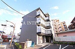東京都府中市紅葉丘2丁目の賃貸マンションの外観
