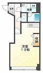 枝川ハイツ[5階]の間取り