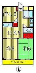 渋谷ビル[7階]の間取り