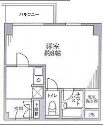 中野弥生町スカイハイツ[102号室号室]の間取り