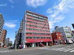 赤いマンション北大前[7階]の外観