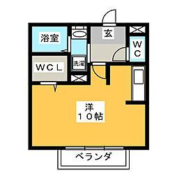 第5エスポワール[2階]の間取り