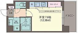 ハウス西横浜[403号室号室]の間取り