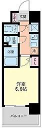 サンセリテ至誠会松崎町[6階]の間取り