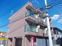 埼玉県上尾市本町1丁目の賃貸アパートの外観