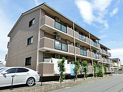 滋賀県甲賀市水口町虫生野虹の町の賃貸マンションの外観