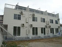 千葉県船橋市滝台1丁目の賃貸アパートの外観