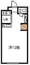 サンケイマンション第8ビル[302号室]の間取り
