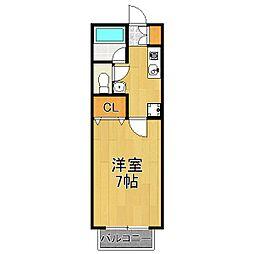 サニーコートI[2階]の間取り