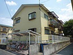 大阪府富田林市津々山台4丁目の賃貸アパートの外観