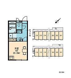 ギプフェル[1階]の間取り