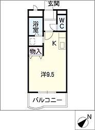 ミレニアム・K[2階]の間取り