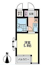 日神パレス戸塚[1階]の間取り