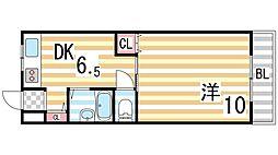 諸福マンション[301号室]の間取り