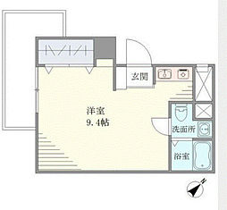 東建東五反田マンション[9階]の間取り