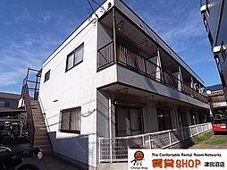 コーポ川島第六[201号室]の外観
