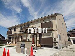 愛知県名古屋市中川区江松4丁目の賃貸アパートの外観