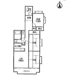 T・メゾンシャルマントI[4階]の間取り