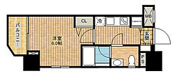 ロアール武蔵新城[804号室]の間取り