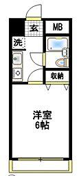 エクセル豊田[2階]の間取り