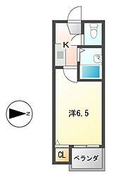 DHマンション[5階]の間取り