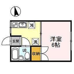 春日山駅 2.5万円