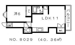 多田マンション[3階]の間取り