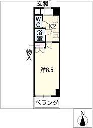 キャッスル一社[2階]の間取り