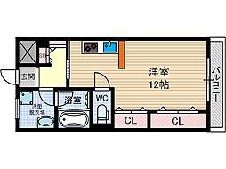 西駅前吉田マンション[4階]の間取り