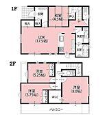 1区画 建物参考プラン
