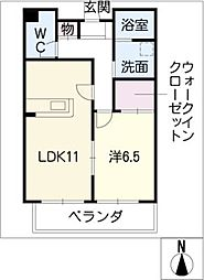 G・Street 226[3階]の間取り