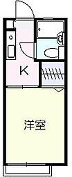 アネックスYAMAMURA[2階]の間取り