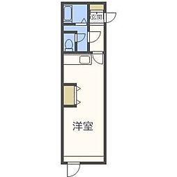 センチュリーパークハイツ[3階]の間取り