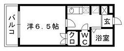 PLEAST松香台[2階]の間取り