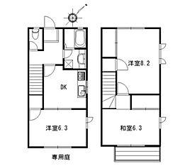 [テラスハウス] 神奈川県藤沢市辻堂東海岸1丁目 の賃貸【/】の間取り