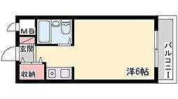 ベルトピア加古川[303号室]の間取り