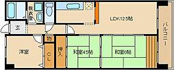 シヤトー谷浦[2階]の間取り