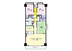 ヴェラハイツ五井第2[804号室]の間取り