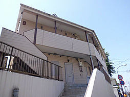 神奈川県横浜市港北区篠原東1丁目の賃貸アパートの外観
