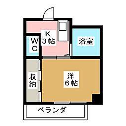 小川マンション[2階]の間取り