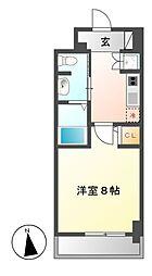レジディア高岳[9階]の間取り